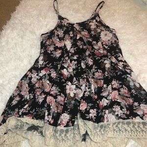 Dresses & Skirts - Floral and Lace Dress